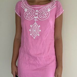 Lilly Pulitzer Beaded Pink Dress💗